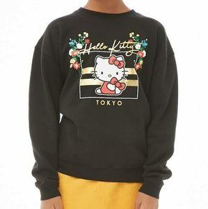 Forever 21 Girls Hello Kitty Graphic Sweatshirt